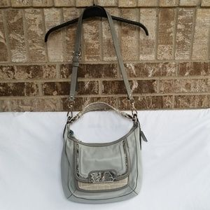 Coach New Kristin Spectator Leather Hobo Bag